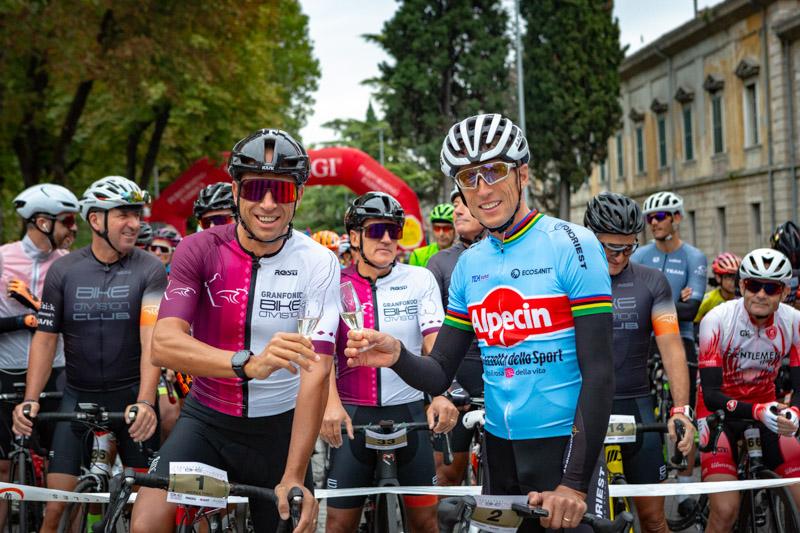 Campione del Mondo Maurizio Fondries con Andrea Tonti